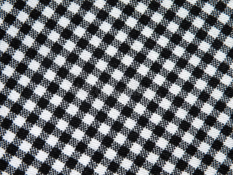Checked fabric. Texture suitable as background stock photo