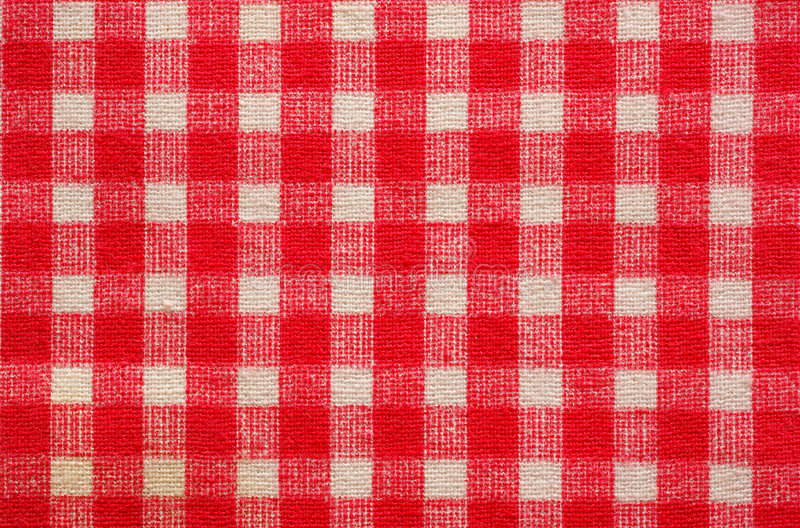 Checked fabric background