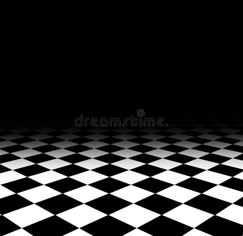 Download Checked floor stock illustration. Image of pattern, surface - 21531558