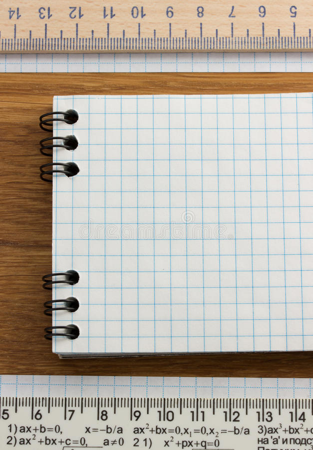 Download Checked note paper on wood stock photo. Image of texture - 39503784