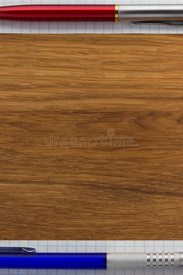 Download Checked note paper on wood stock image. Image of sheet - 39503795