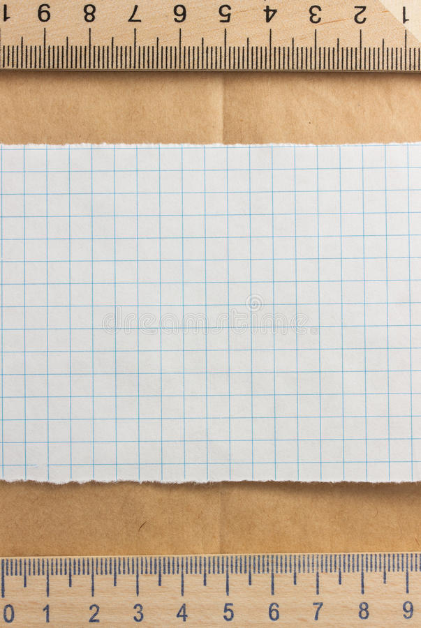 Download Checked paper stock photo. Image of folded, back, bulletin - 39503846