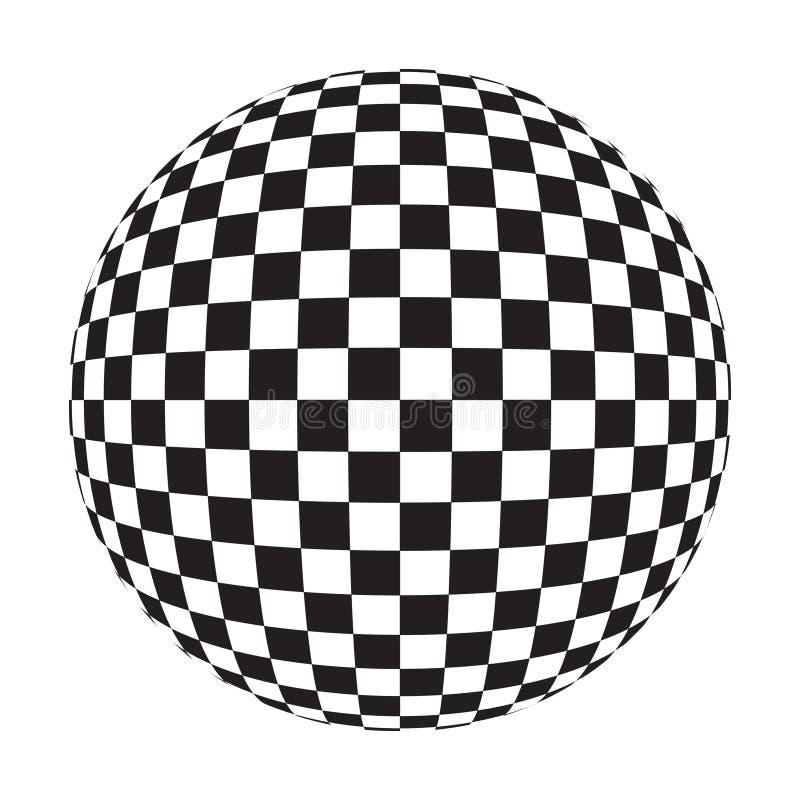 Free Checker Ball Royalty Free Stock Photography - 1540297