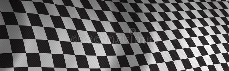checker flagę royalty ilustracja