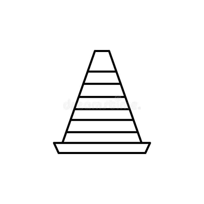 checker ikona Element prosta ikona dla stron internetowych, sieć projekt, wisząca ozdoba app, ewidencyjne grafika Cienka kreskowa ilustracja wektor