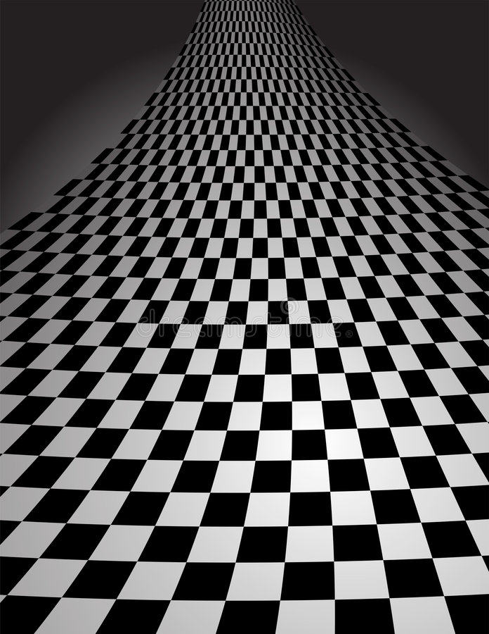 Download Checker Pattern In Perspective - Vector Illustrati Stock Vector - Image: 8323466