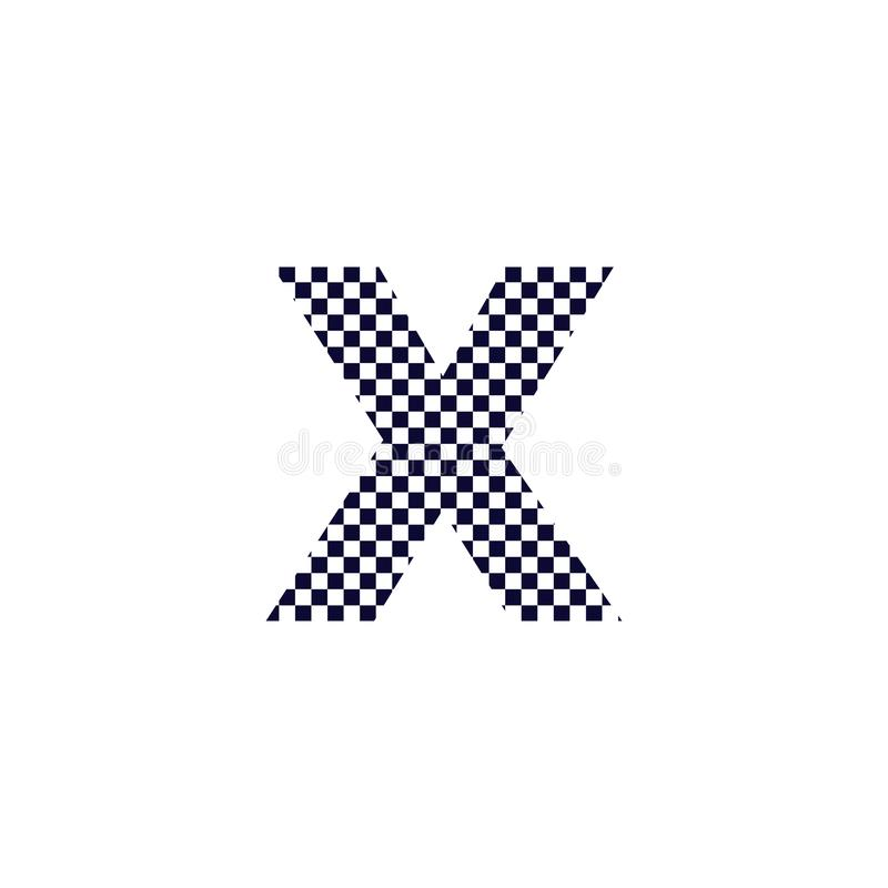 Logo Of Checkered Letter M