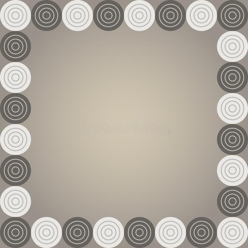Checker vector frame vector illustration