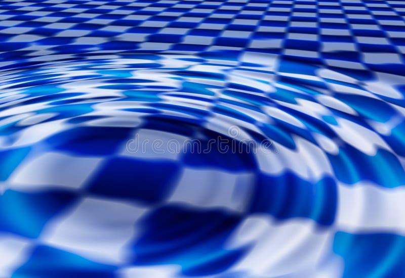 checkerboard ανασκόπησης διανυσματική απεικόνιση