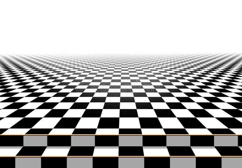 Checkerboard υπόβαθρο πατωμάτων Περίληψη ελεύθερη απεικόνιση δικαιώματος