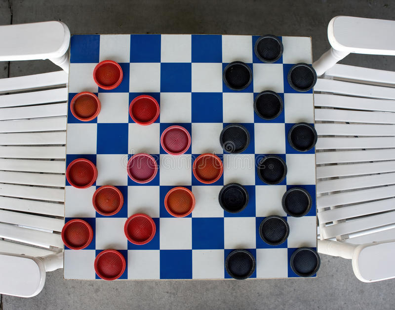 Download Checkerboard Game. stock image. Image of game, chequered - 40537909