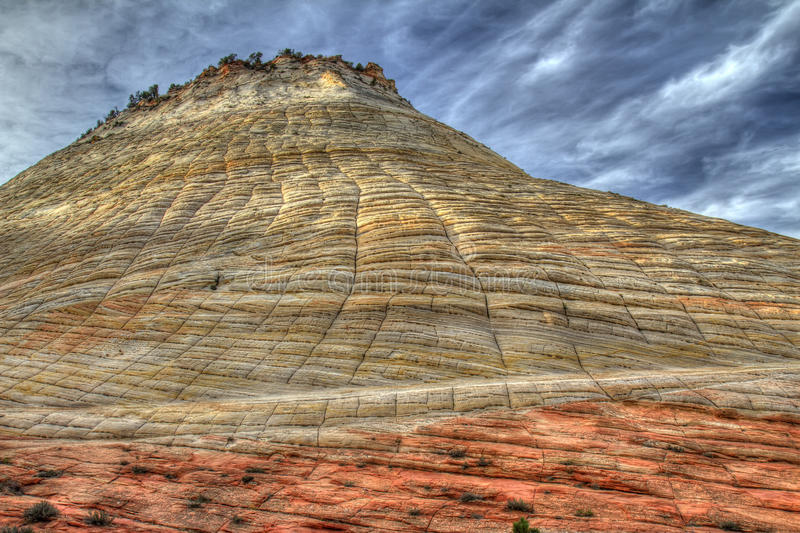 Download Checkerboard Mesa, Zion stock image. Image of landscape - 28021055