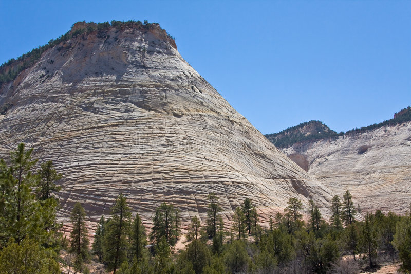 Download Checkerboard Mesa In Zion Canyon Stock Photo - Image: 7973822