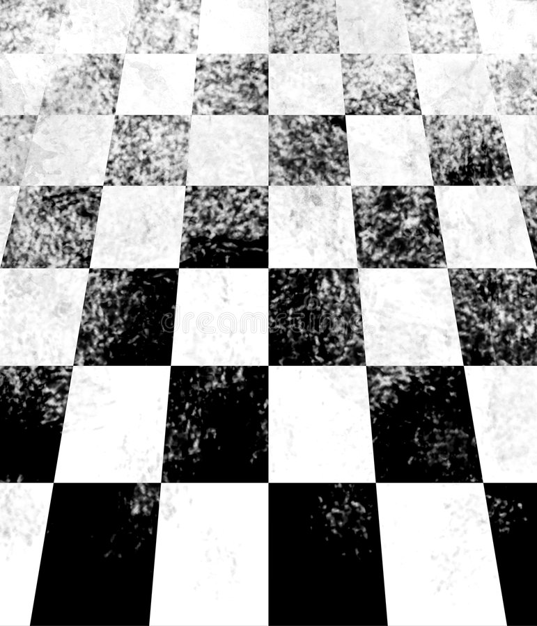 Download Checkerboard Perspective Royalty Free Stock Photos - Image: 8121018