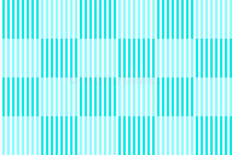 Checkered картина с вертикальными striped линиями, свет - голубые цвета Иллюстрация вектора, EPS10 иллюстрация штока