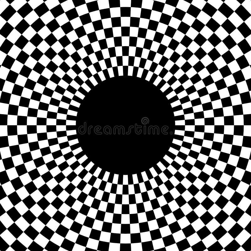 Download Checkered круговой элемент Абстрактный Monochrome график с Squ Иллюстрация вектора - иллюстрации насчитывающей конспектов, contrasty: 81814869