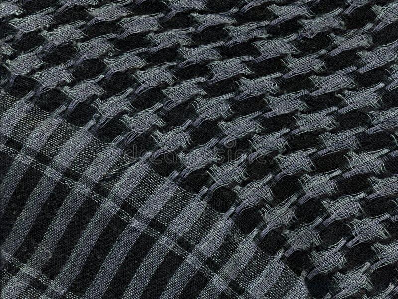 Checkered носовой платок Макрос стоковые фото
