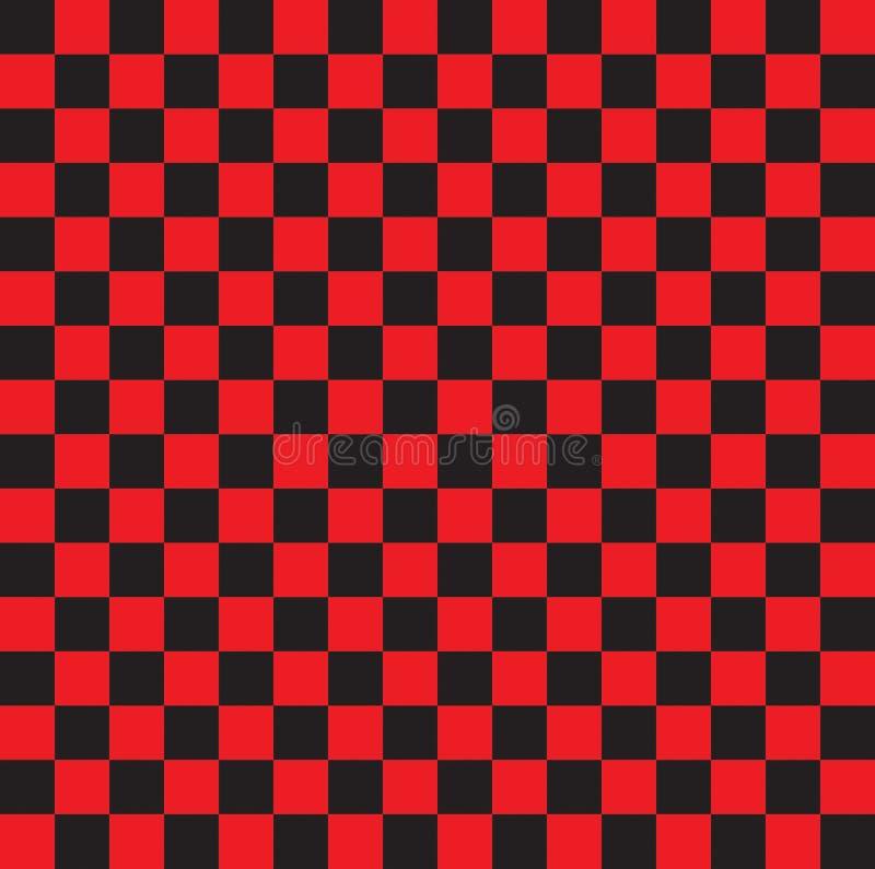 Checkered предпосылка r иллюстрация вектора