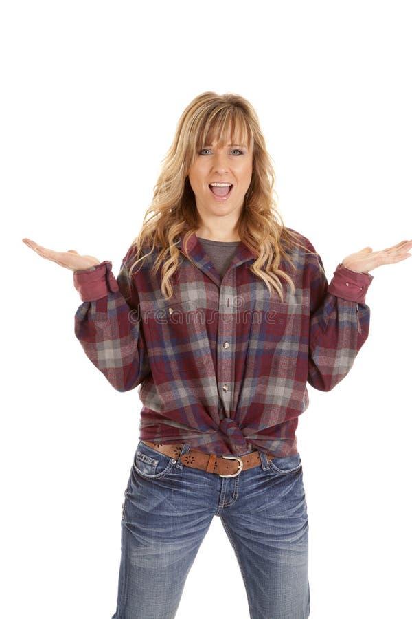 checkered рубашка рук вверх стоковые изображения