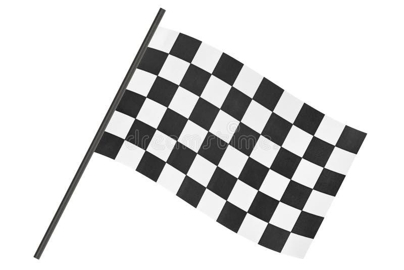 checkered флаг отделки стоковые фото