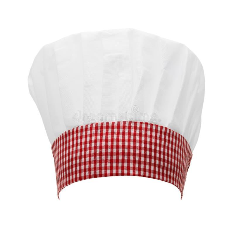 Checkered шляпа шеф-повара стоковые фото
