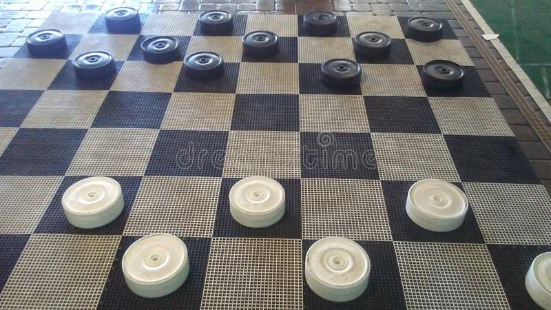 checkered imagem de stock royalty free