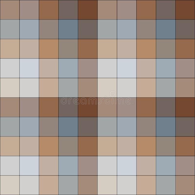 Checkered ilustração do vetor