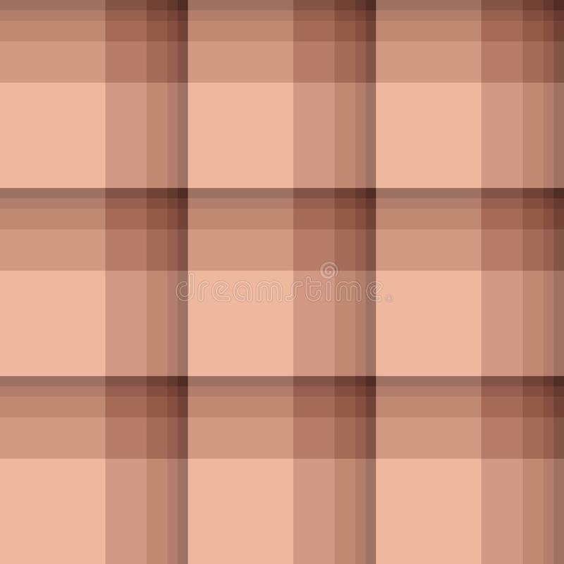 Checkered background in cozy brick tones. vector illustration