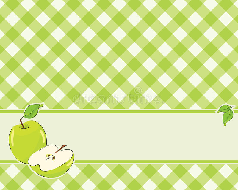 Download Checkered Background In A Light Green Color Stock Vector - Image: 19574430