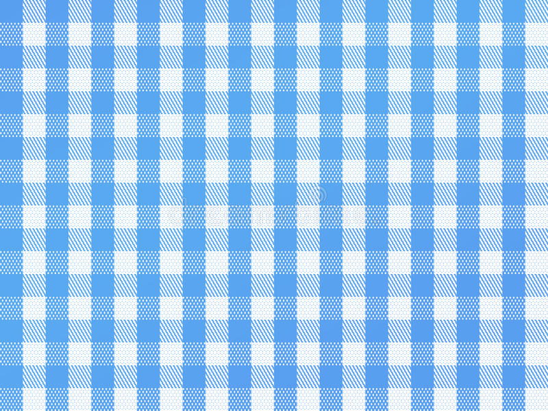 Download Checkered Bavarian Blue stock illustration. Image of picnic - 15962128