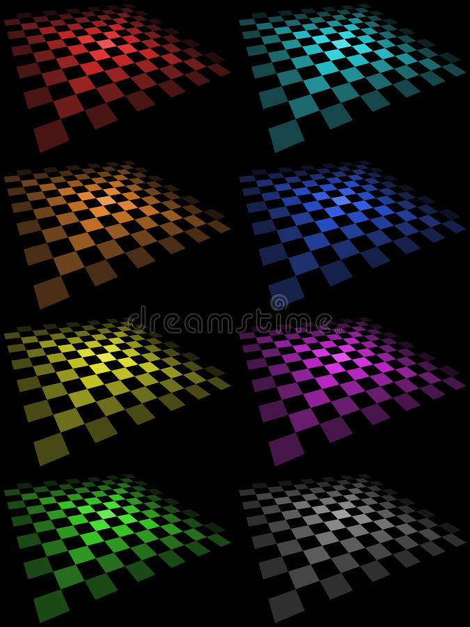 Download Checkered Boards stock vector. Image of geometry, purple - 4793834