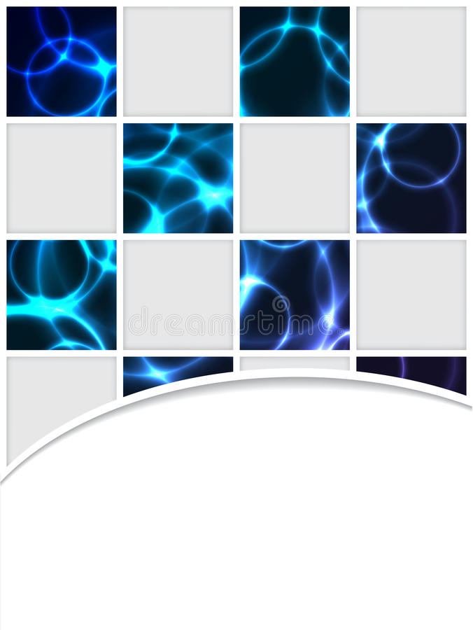 Download Checkered brocure design stock vector. Image of layout - 24220494