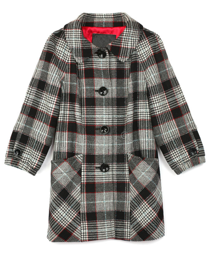 Download Checkered coat stock photo. Image of industry, raincoat - 11836372