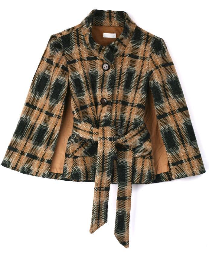 Checkered Coat Stock Photography