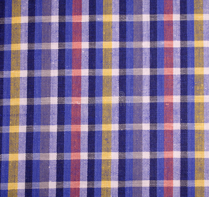 Download Checkered Fabric stock photo. Image of checkered, detail - 30319204
