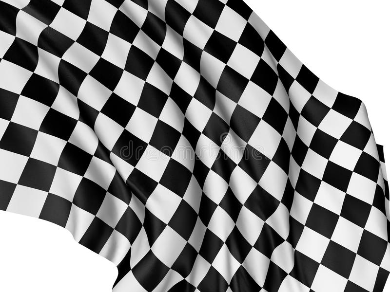 Download Checkered Flag stock illustration. Image of competitive - 12535806