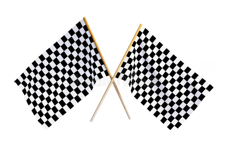 Download Checkered flag stock illustration. Image of banner, square - 14000759
