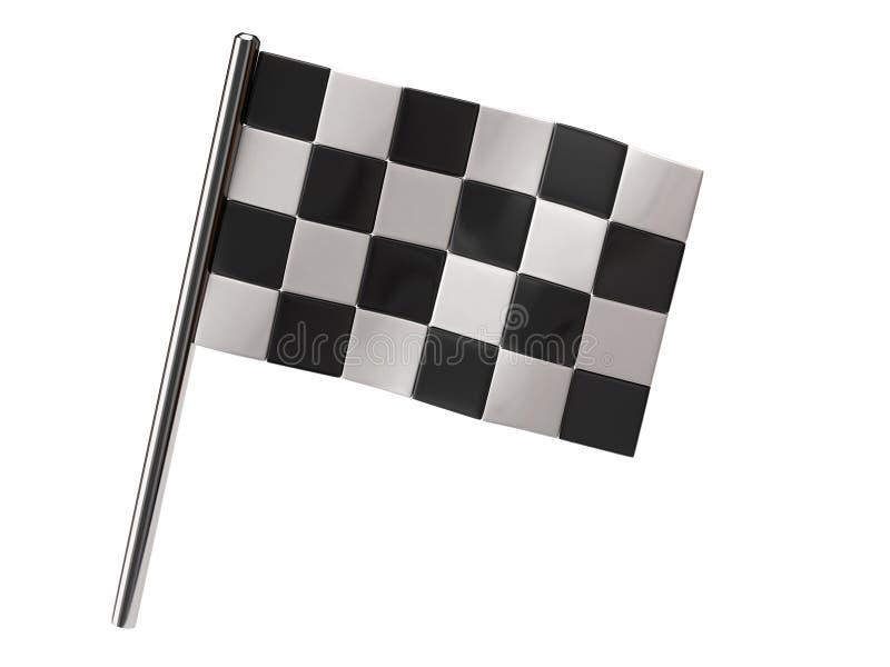 Download Checkered Flag stock illustration. Illustration of icon - 16112750
