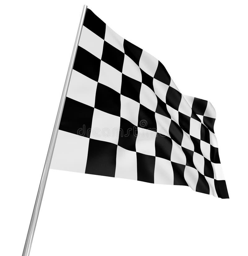 Checkered Flag Royalty Free Stock Photo