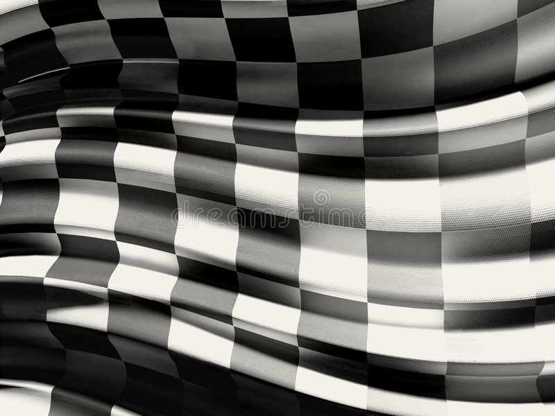 Download Checkered flag stock illustration. Image of motorcycles - 6052522