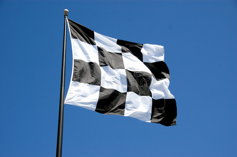 Checkered Flag Stock Image