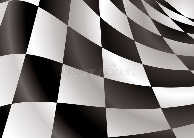 Download Checkered flag revs stock illustration. Image of champion - 6057871