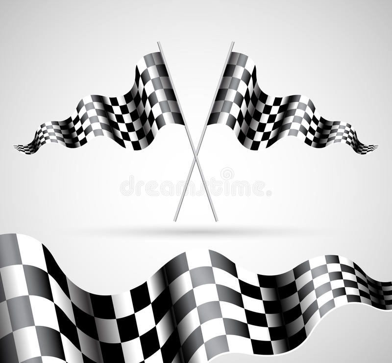 Download Checkered Flags stock vector. Image of collection, arms - 23722819