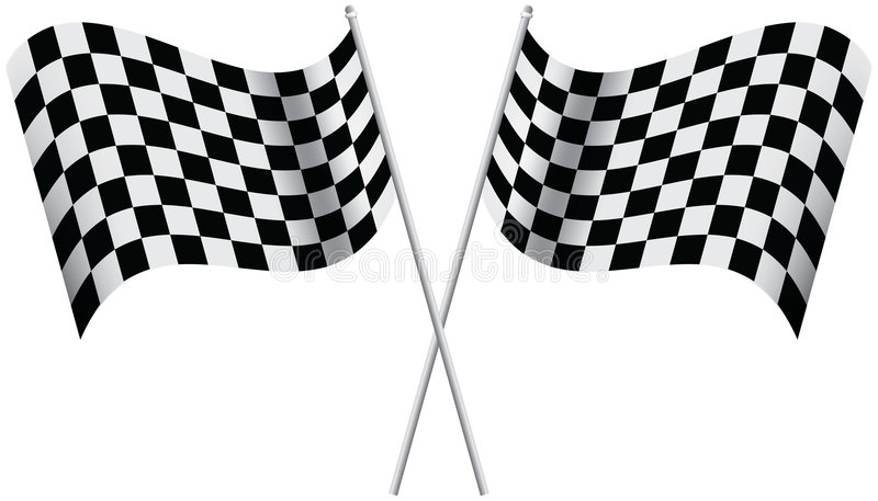 Download Checkered Flags Stock Photo - Image: 4241510