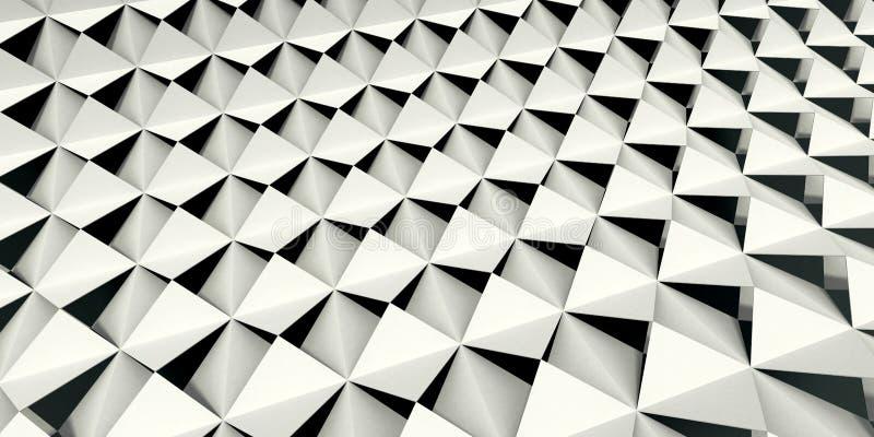 Checkered Fliesen lizenzfreie abbildung