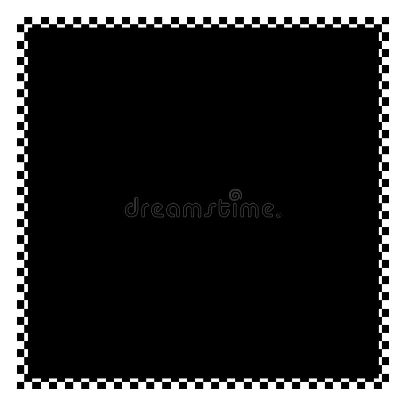Checkered Frame Royalty Free Stock Image
