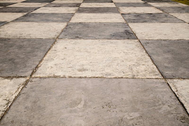 Checkered Fußboden stockfotos
