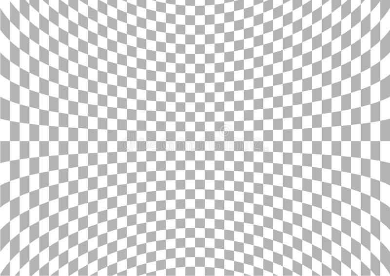 Checkered Hintergrund   stock abbildung
