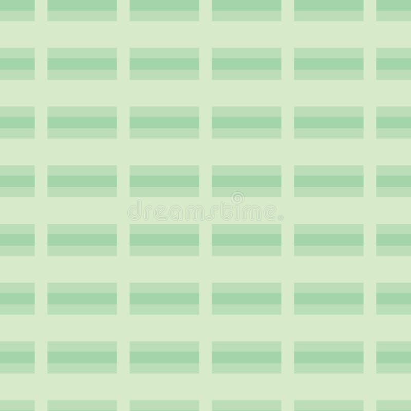 Checkered Lines Stripes Seamless Vector Pattern. Plaid Tartan Background Texture Illustration royalty free illustration