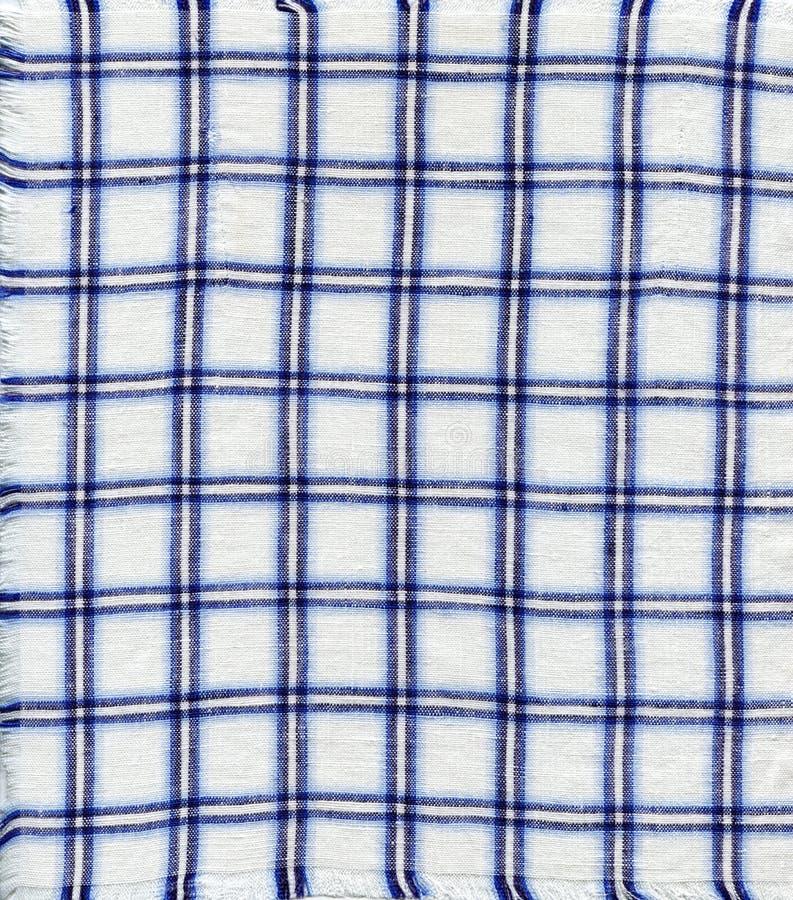 Checkered Napkin Stock Photos